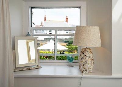 Twin bedroom window