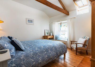 Master bedroom view from door